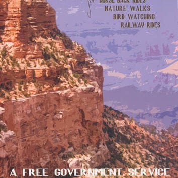 Grand Canyon National Park Arizona Poster 24x36