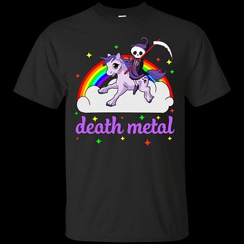 Rainbow Death Metal Rocker Unicorn