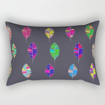 Leaves only one Rectangular Pillow by Azima
