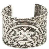 Boho Etched Cuff Bracelet | Wet Seal