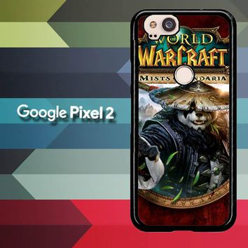 World of Warcraft Guardian Druid Mists of Pandaria Z0652 Google Pixel 2 Case