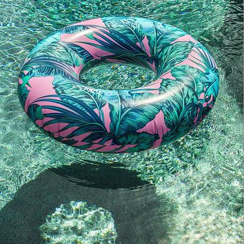 FUNBOY For UO Electric Palm Oversized Pool Float   Urban Outfitters