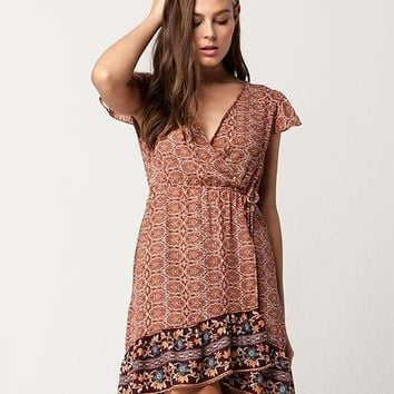 BOG Collective Flutter Boho Dress | Short Dresses