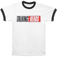 Talking Heads Men's  True Stories Vintage T-shirt White