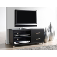 """Walmart: Techni Mobili Manila Black TV Stand with 2 Drawers, for TVs up to 40"""""""