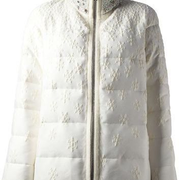 Moncler Gamme Rouge Feather Down Jacket