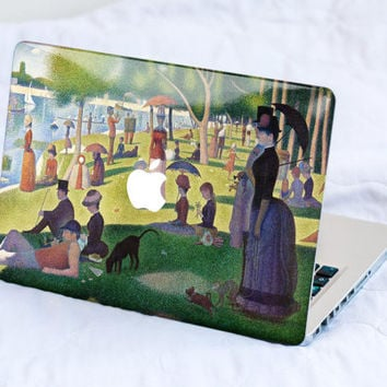 Impressionist Sunday MacBook Decal Skin MacBook decal sticker MacBook Pro Retina Cover MacBook Air Acer Asus Dell HP Lenovo Chromebook