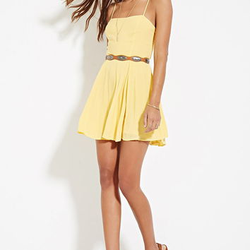 Cutout-Back Cami Dress | Forever 21 - 2000183130