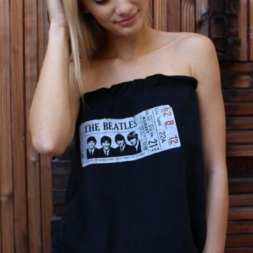 """""""The Beatles"""" Reworked Tube Top"""