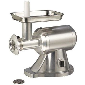 Commercial Kitchen Countertop Electric Meat Grinder #12 1 HP