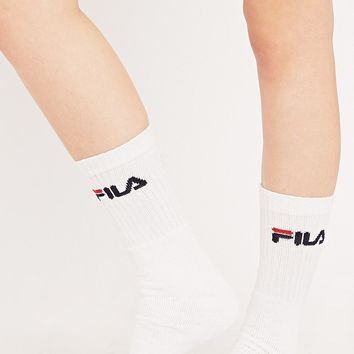 Fila Sports Socks in White - Urban Outfitters
