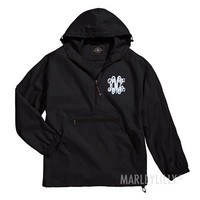 Monogram Rain Jacket | Marleylilly