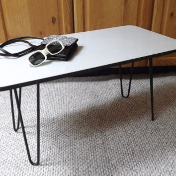 Original Mid Century Modern Coffee Table 1950's madmen Eames Era