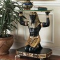 Egyptian Decor | Servant to the Pharaoh Table
