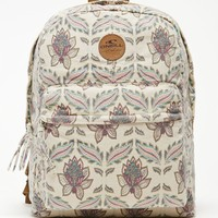 O'Neill Goldenwest Floral School Backpack - Womens Backpack - White - One