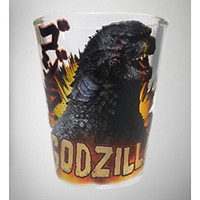 2 oz. Godzilla Fire Shot Glass - Spencer's