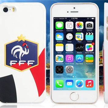 World Cup France Football Team Case for iPhone 5/5S