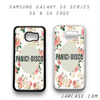 panic at the disco floral Phone case for samsung galaxy S6 & S6 EDGE