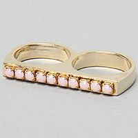 Karmaloop.com - Global Concrete Culture - The Rimo Ring in Pink Opal by Accentuality Jewelry
