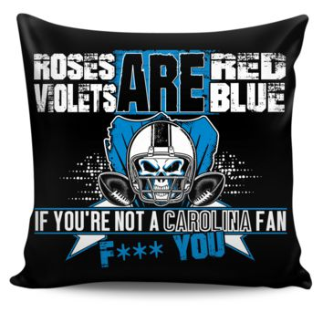 Roses are Red Carolina Pillow Cover