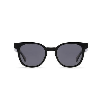 Raen Squire 50 Black Sunglasses, Polarized Lenses