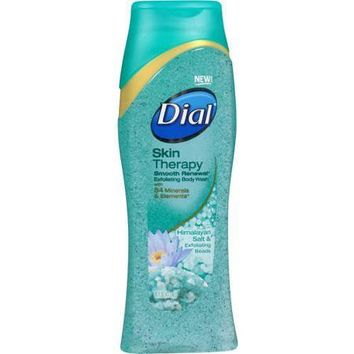 Dial Skin Therapy Himalayan Salt & Exfoliating Beads Body Wash, 16 fl oz