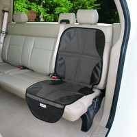 Summer Infant Duo Mat 2 In 1 Car Seat Protector - Black/Grey