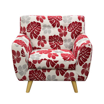 Scarlett Patterned Fabric Accent Chair by Diamond Sofa - PATTERN