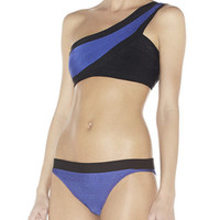 One Shoulder Two-Piece Swimsuit
