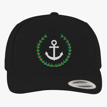 Pablo Escobar's Anchor Brushed Embroidered Cotton Twill Hat