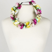 Flower Crown Headband - Multi