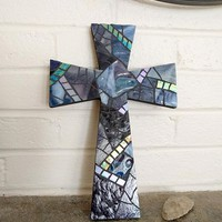 mosaic crosses