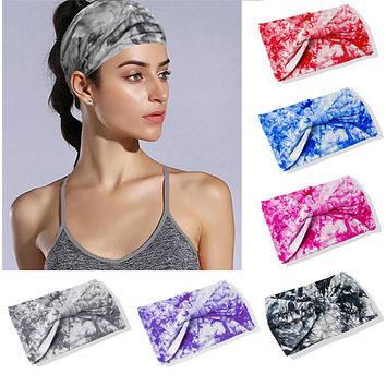 Boho Wide Cotton Headbands for Women