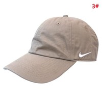 NIKE New fashion embroidery hook couple cap hat 3#