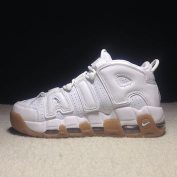 Best Online Sale Nike Air More Uptempo Og Retro Sport Baskerball White Sneaker