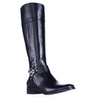 MICHAEL Michael Kors Fulton Harness Riding Boots - Black