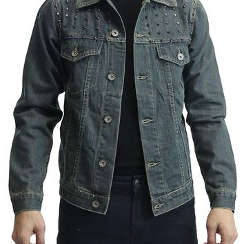 Denim Jacket with Spikes DK92 - A14C