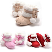 Winter Newborn Toddler Baby Kids Boys Girls Prewalker Warm Winter Autume Shoes Boots irst Walkers