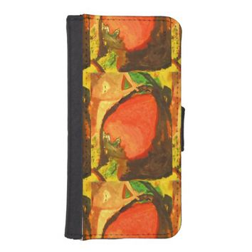 Strawberry iPhone SE/5/5s Wallet Case