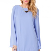 MAURA SHIFT DRESS IN LAVENDER