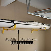 Paddle Lake Huron-Explore Vinyl Wall Decor-Explore Michigan Decal-Adventure Wall Decor-Vinyl Wall Decal Sticker