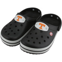 Tennessee Volunteers Ladies Crocband Crocs - Black