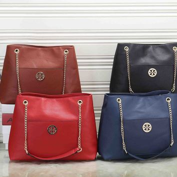 Tory Burch Trending Women Stylish Leather Handbag Shoulder Bag Crossbody Satchel