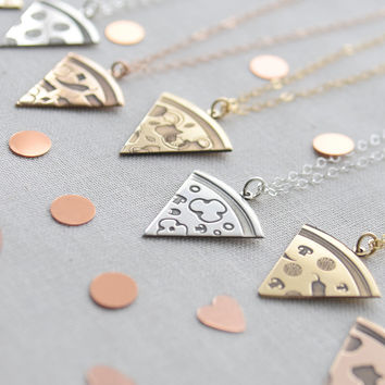 Pizza Necklace - Pick your toppings