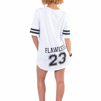 Flawless Baseball Jersey (White)