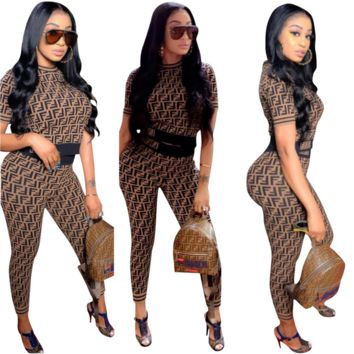 Fashion FENDI Two Pieces Set
