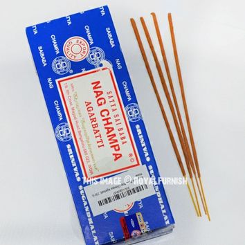 Satya Sai Baba Nag Champa Incense Sticks 250 Gram on RoyalFurnish.com