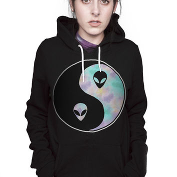 PEACE SIGN PULLOVER SWEATSHIRT