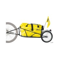 BOB Yak Plus Trailer In Black (Includes Dry Sak)