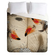 Iveta Abolina Feather Dance Duvet Cover
